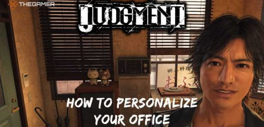 Judgment: How To Personalize Your Office