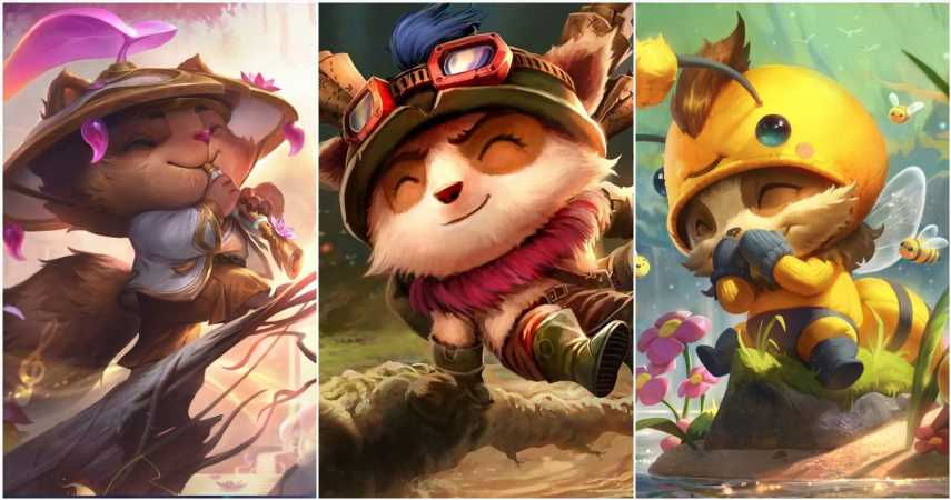 League of Legends: 10 Champions With The Most Skins