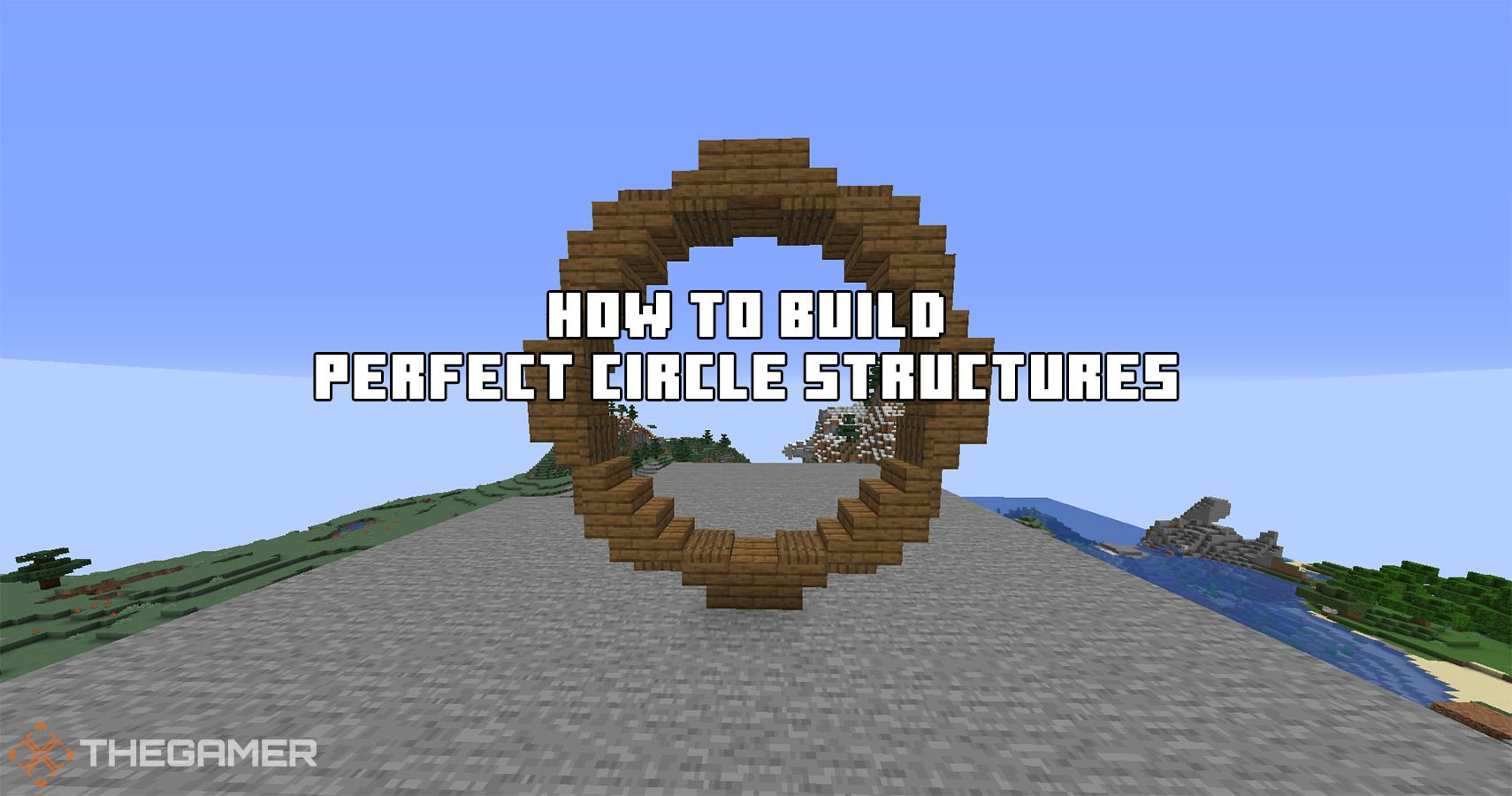 Minecraft: How To Build Perfect Circle Structures