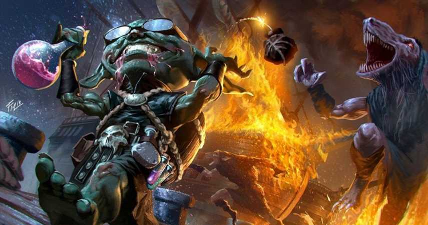 Pathfinder Comic Book Has Goblins, Exploding Brains, And Playable Content