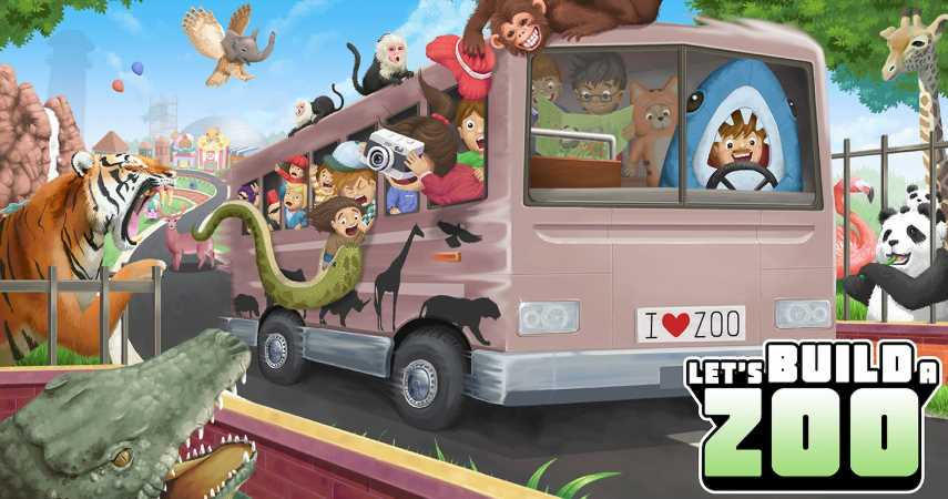 Publisher No More Robots Announces Let's Build a Zoo