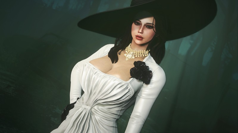 Resident Evil Village's Lady Dimitrescu Invades Fallout 4 With This Mod