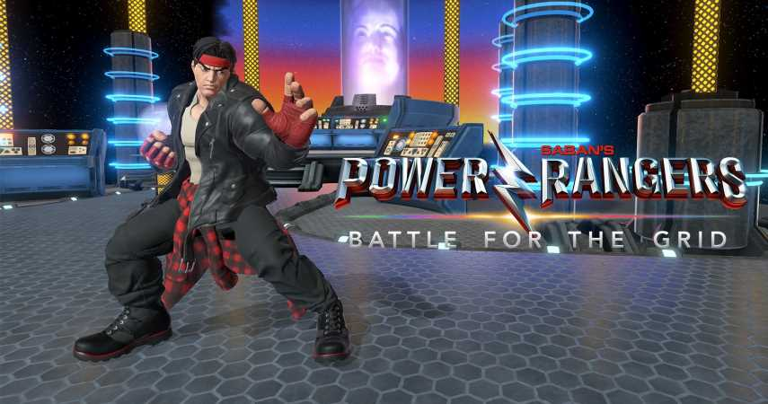 Ryu Gets An Angel Grove Makeover For Power Rangers: Battle For The Grid