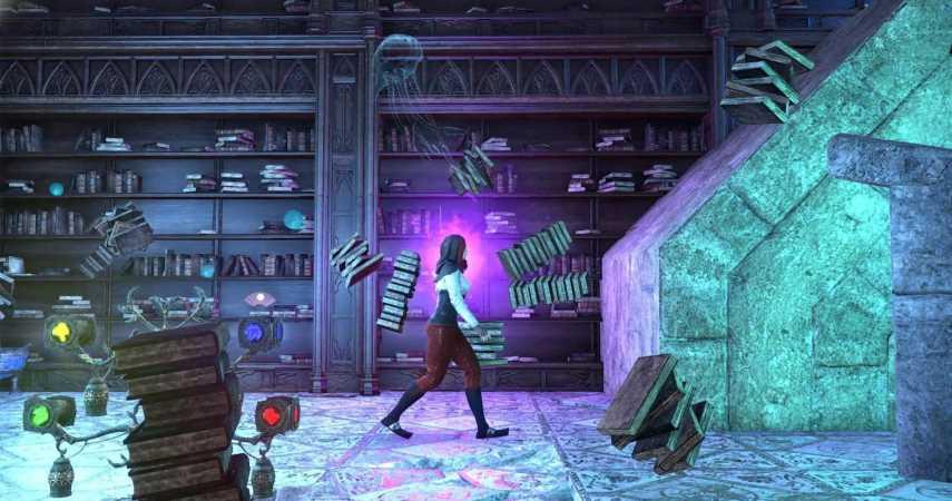 The Elder Scrolls Online Player Turns Their House Into A 2D Platfomer