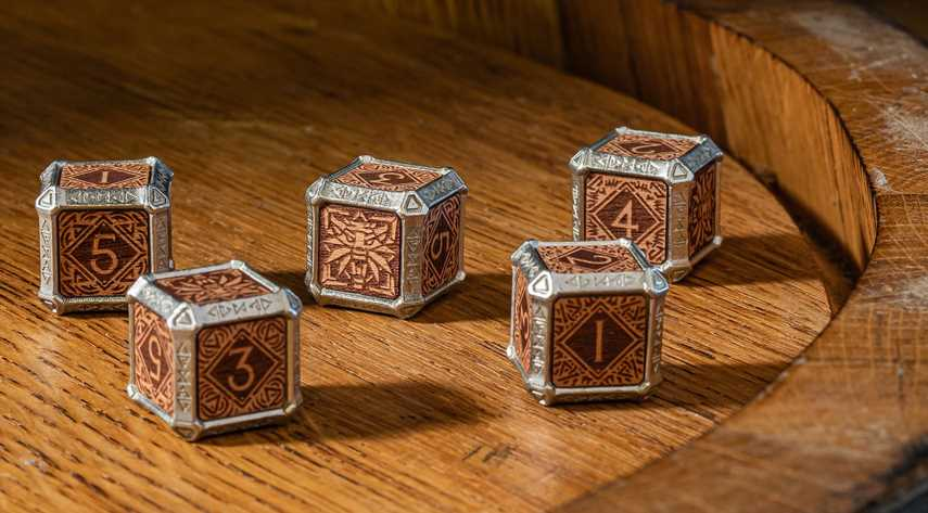 The Witcher's Hybrid Dice Kickstarter Campaign More Than Triples Its Goal
