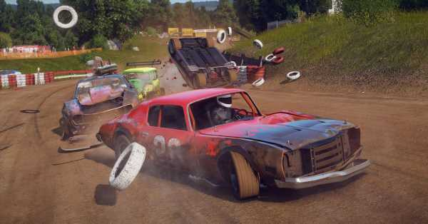 Wreckfest trailer shows off PS5 version, which is a $9.99 upgrade