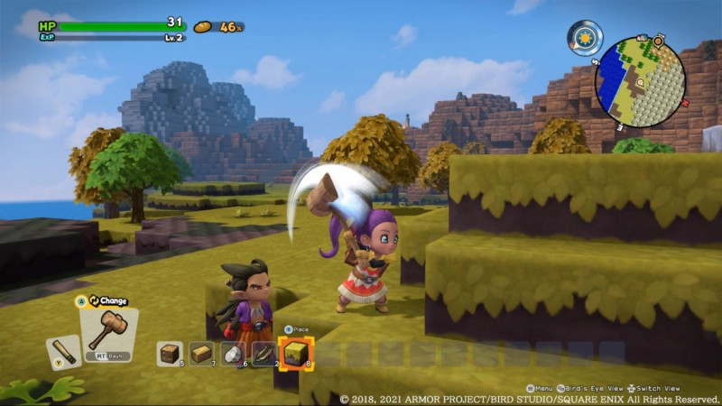 Xbox Game Pass Adding Dragon Quest Builders 2 Next Week