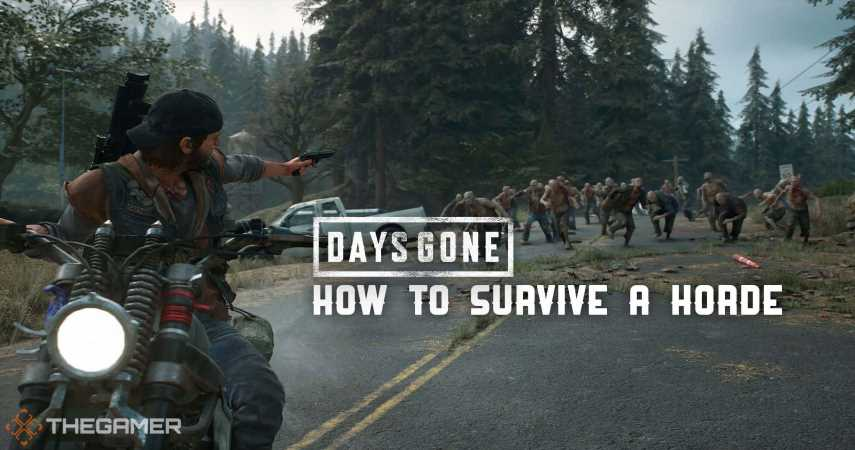 Days Gone: How To Survive A Horde