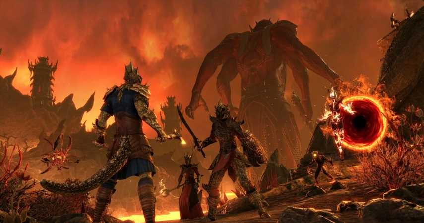 """Elder Scrolls Online PS4 Servers Currently Down For """"Severe Hitching"""" Issues"""