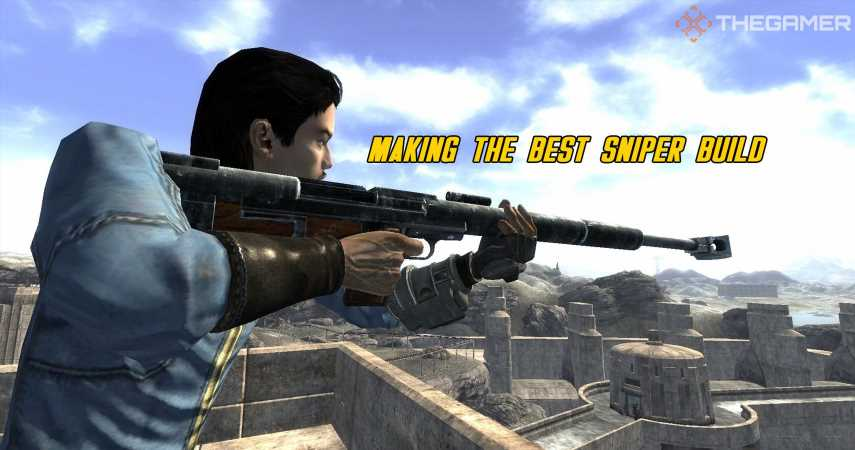 Fallout 4: Making The Best Sniper Build