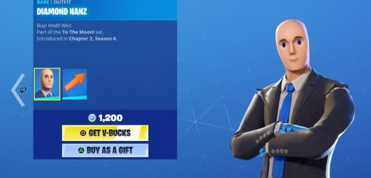 Fortnite now has the Stonks guy