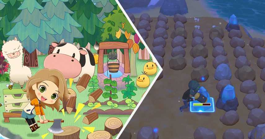 How To Farm Diamonds In Story Of Seasons: Pioneers Of Olive Town