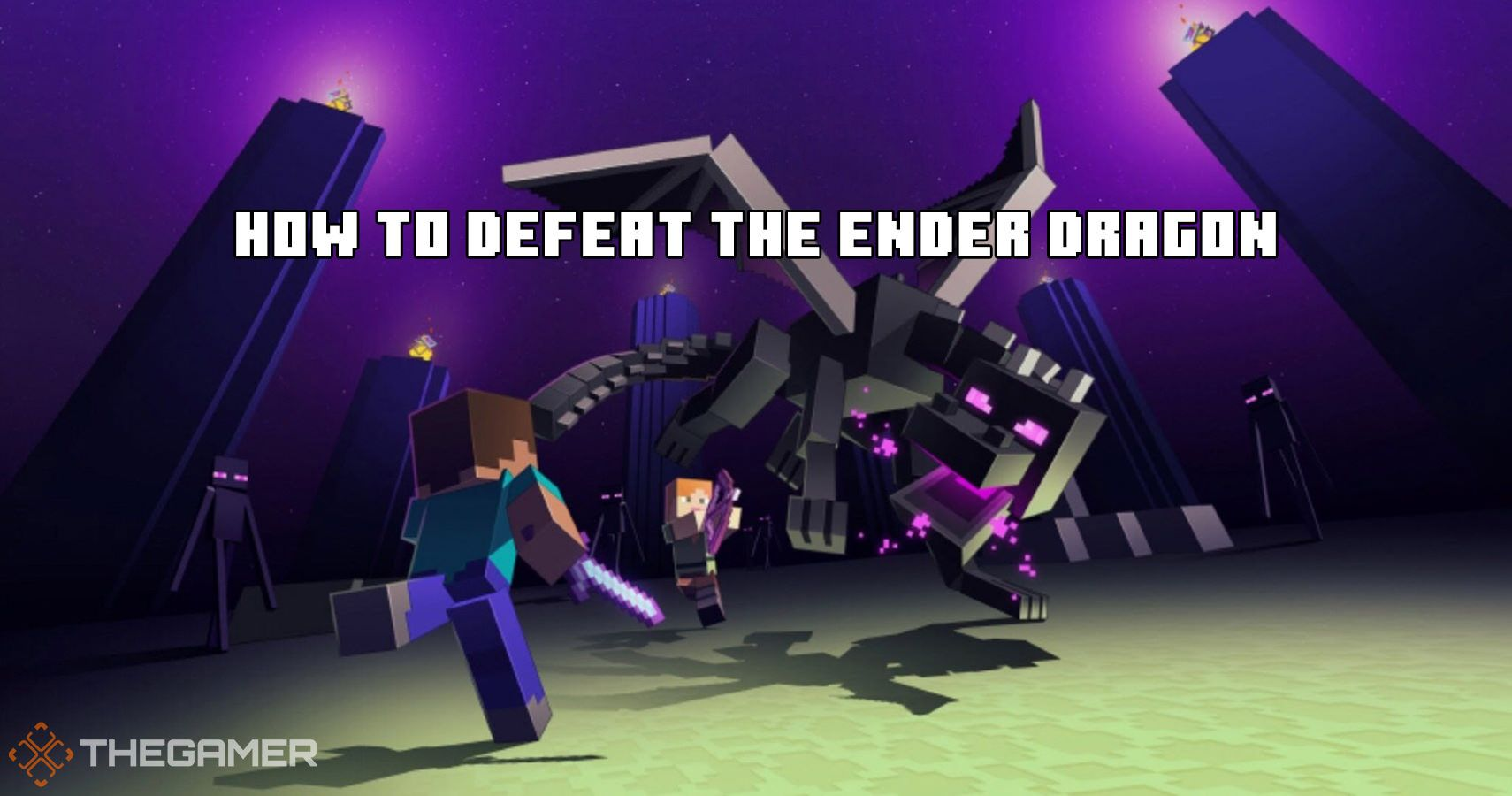 Minecraft: How To Defeat The Ender Dragon