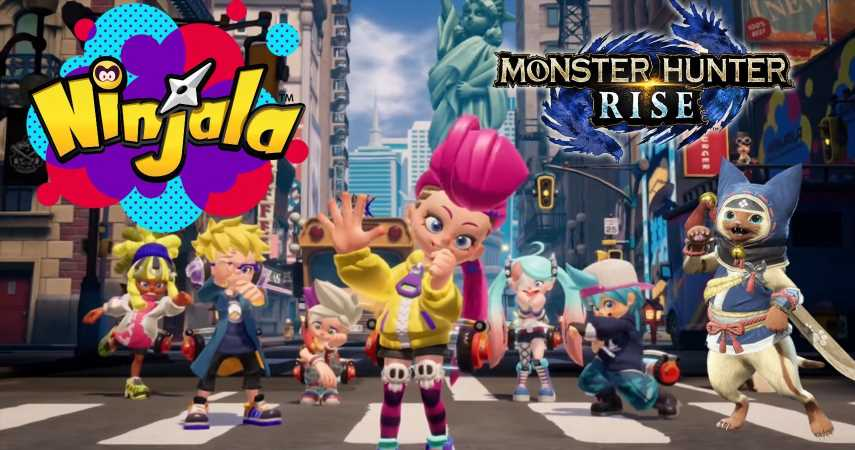 Ninjala Collabs With Monster Hunter To Bring Iconic Armors To The Online Battler