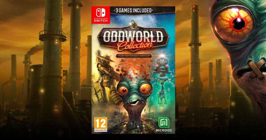 Oddworld Collection Launches On Switch This May