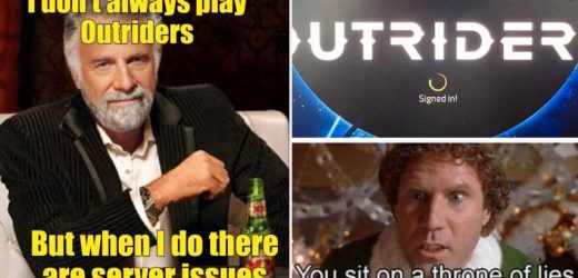 10 Outriders Servers Down Memes That Will Make You Cry-Laugh