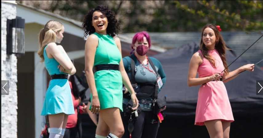 First Look At The PowerPuff Girls Live-Action Series Teased