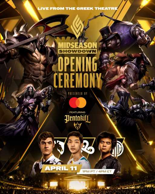 Mid Season Showdown finals to feature new PENTAKILL song