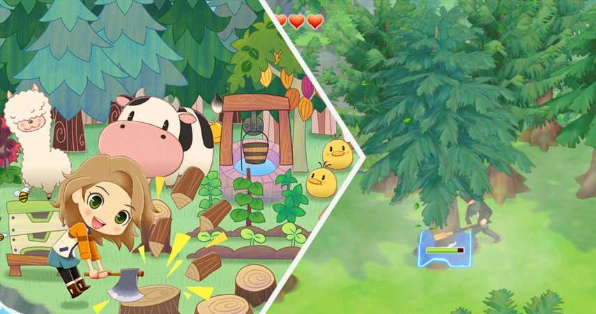 Where To Farm Mirage Wood In Story Of Seasons: Pioneers Of Olive Town
