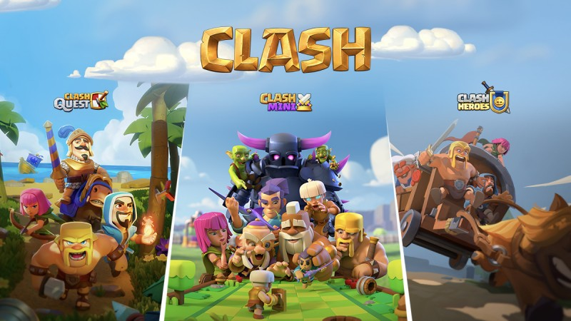 Supercell Unveils Three New Clash Games