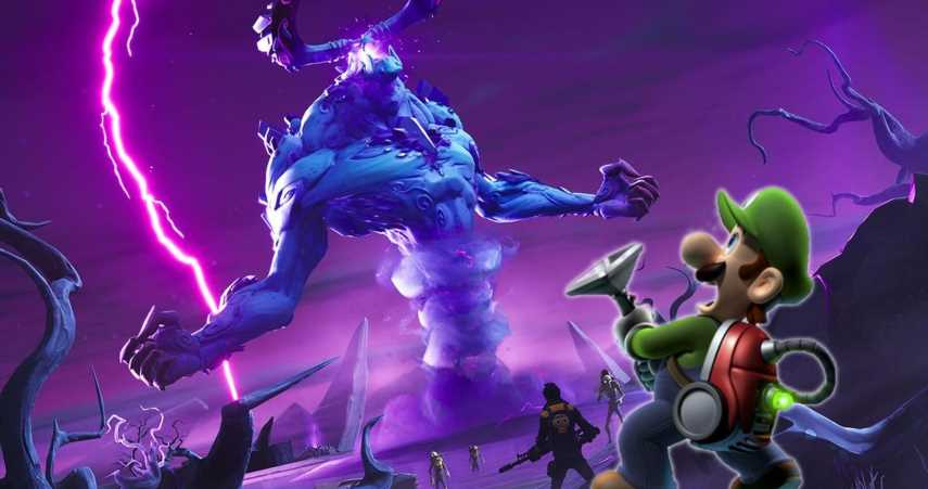 Fortnite's Newest Weapon Is Basically Just Luigi's Poltergust-3000