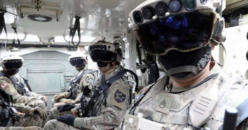 Microsoft Is Selling A Lot Of AR Headsets To The US Military
