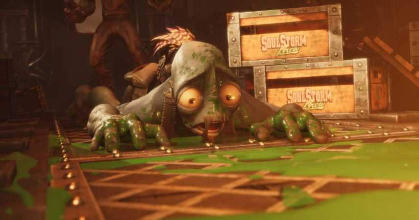 Oddworld: Soulstorm Devs Warn Of Partially Patched Launch Day Bug For PS4 Players
