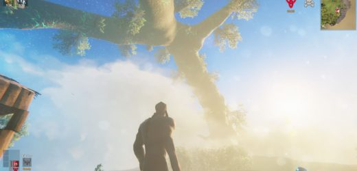 Help, I Can't Stop Looking At Yggdrasil In Valheim