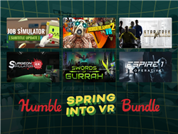 Enjoy Massive Saving's With the Humble  Spring Into VR Bundle
