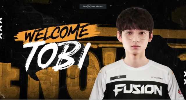 Veteran main support Tobi joins the Philadelphia Fusion