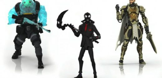Hasbro Unveils First Line Of Victory Royale Fortnite Action Figures