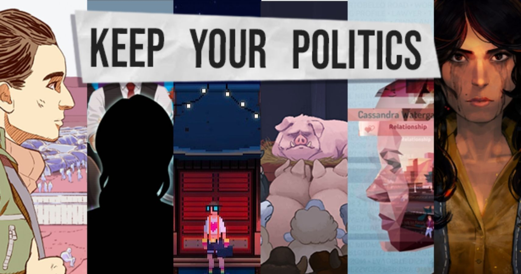 """""""Keep Your Politics"""" Games Bundle Showcases Political Indie Titles On Steam"""