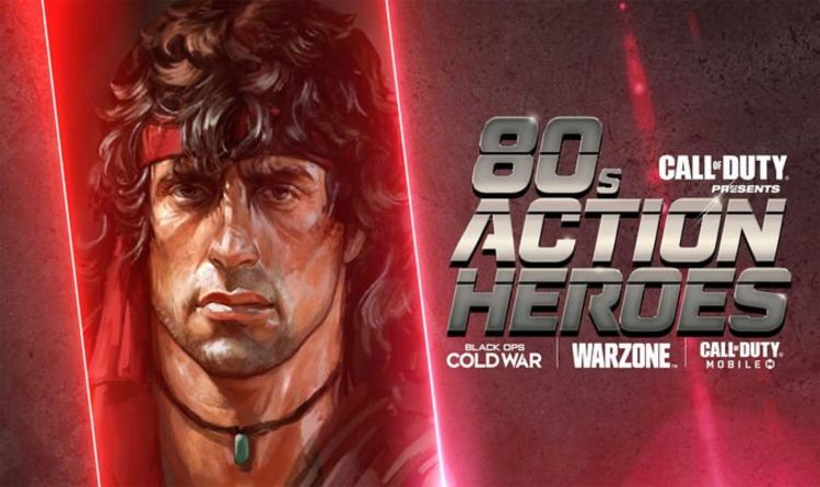 80s Action Heroes Rambo and John McClane invade Call of Duty Warzone this week