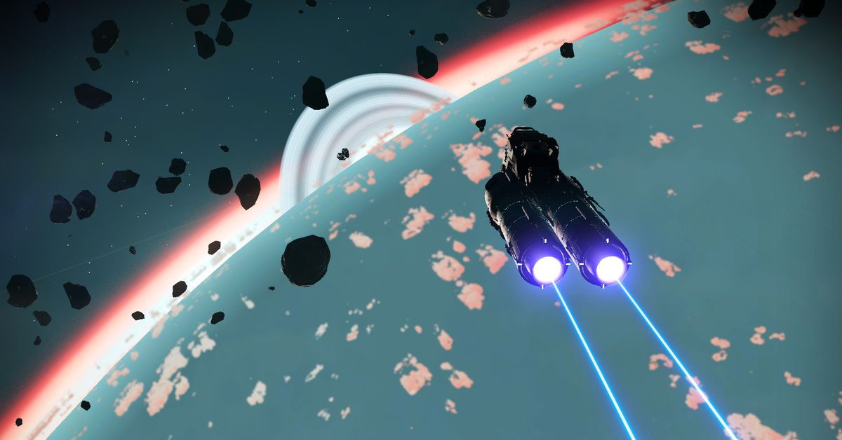 A No Man's Sky galaxy is embroiled in an ongoing war