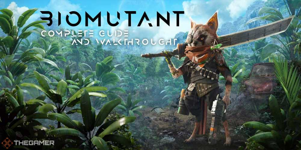 Biomutant Complete Guide And Walkthrough