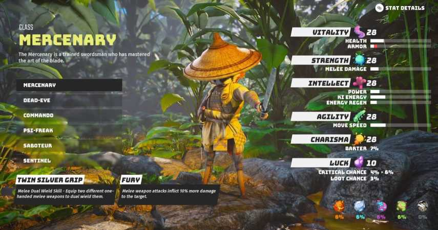 Biomutant: Mercenary Class – Everything You Need To Know