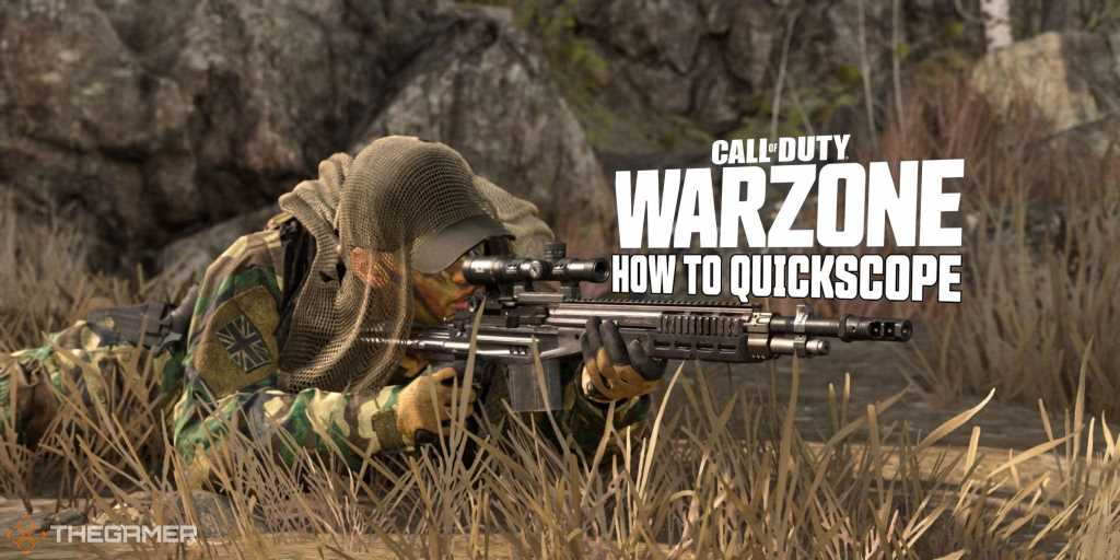 Call of Duty Warzone: How to Quickscope