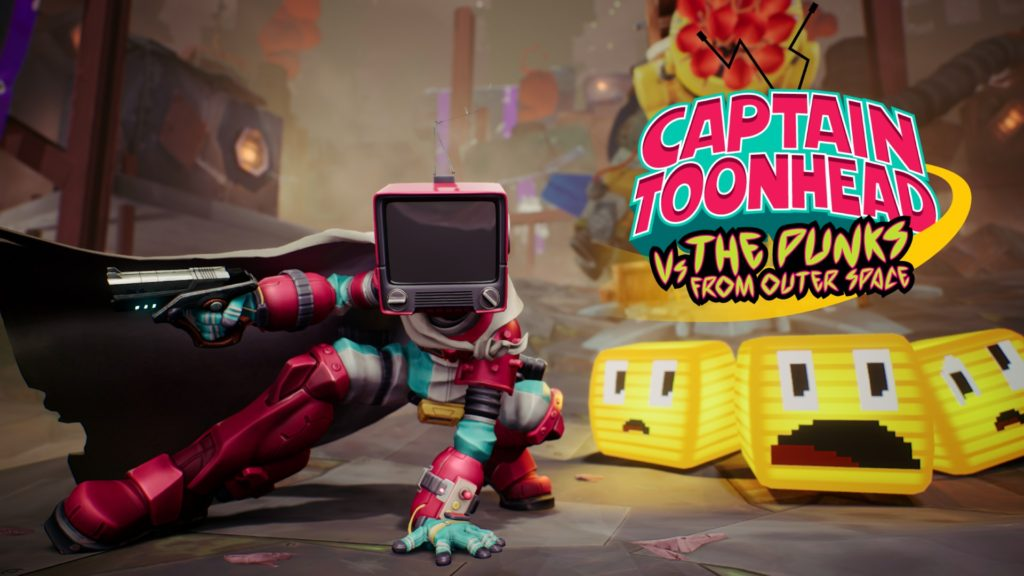 Captain ToonHead vs the Punks from Outer Space Confirmed for Oculus Quest