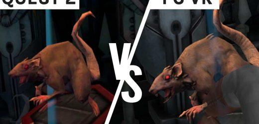 Demeo Graphics Comparison – Quest 2 vs PC VR