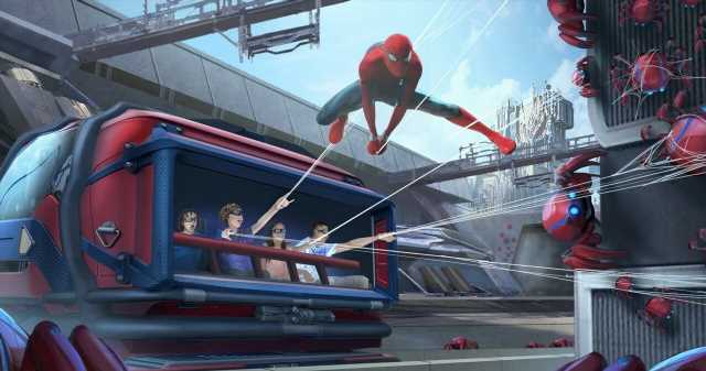 Disney Announces Spider-Man Web Slinger Toys That Interact With New Theme Park Attraction