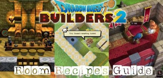 Dragon Quest Builder's 2: A Guide To Room Recipes