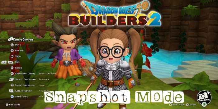 Dragon Quest Builder's 2: A Guide To Taking Pictures