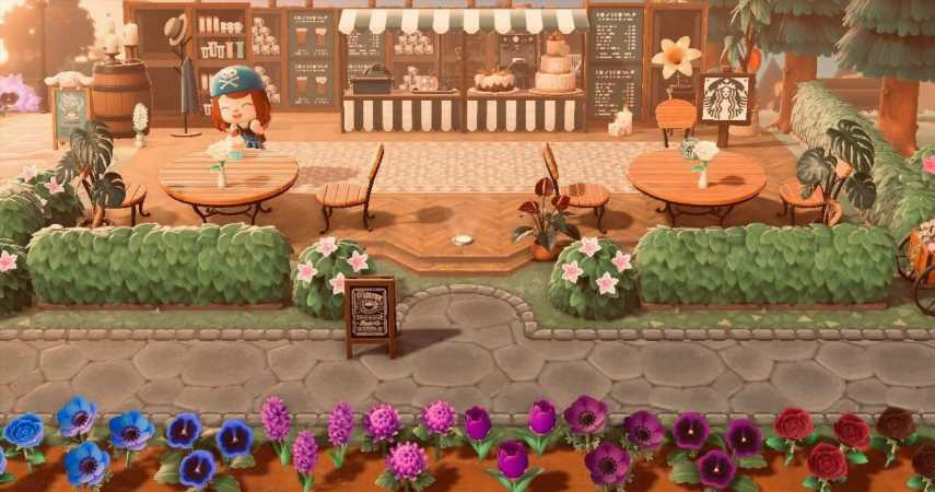 Enjoy Your Java At This Starbucks Cafe In Animal Crossing: New Horizons