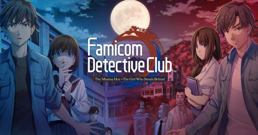 Famicom Detective Club Games Are Out Now On Nintendo Switch