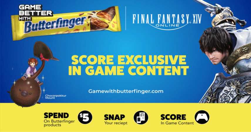 Final Fantasy 14 Is Teaming Up With Butterfinger For An Exclusive Mount