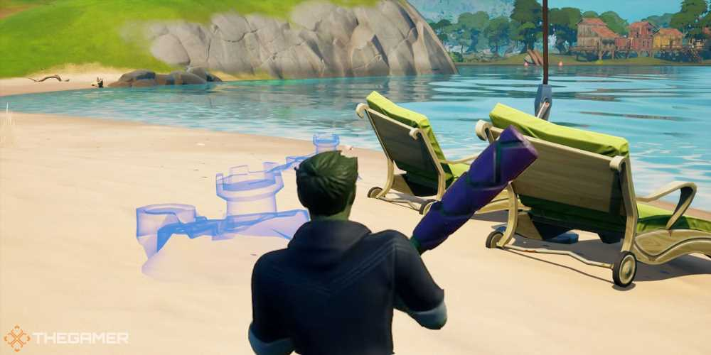 Fortnite: How To Build And Destroy Special Sandcastles
