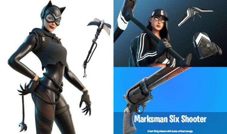 Fortnite update 16.40 leaks: New skins, Catwoman, hidden POI, six shooter, LTM