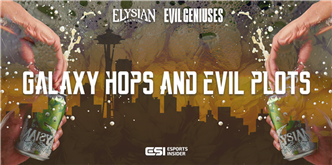 Galaxy hops and evil plots: Behind the predestined Evil Geniuses and Elysian Brewing partnership