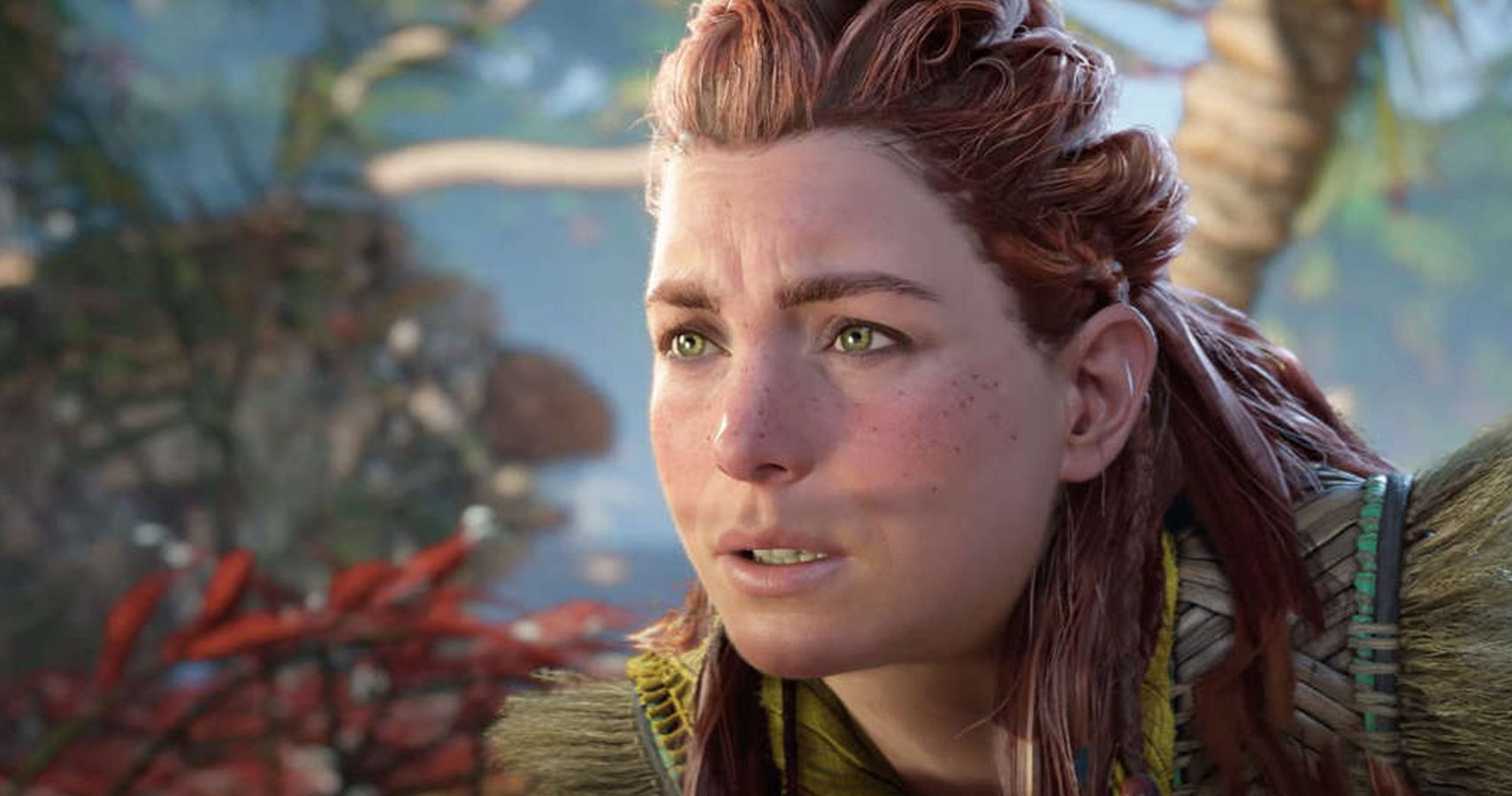 Gamers Are Mad At Aloy's Cheeks In Horizon Forbidden West Because Of Course They Are