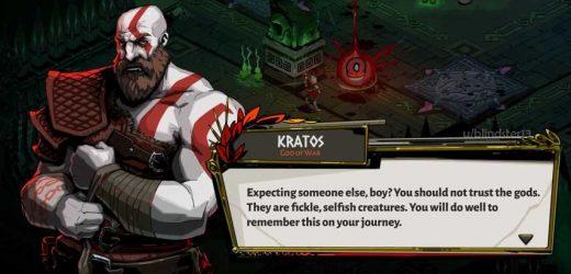 Hades On PlayStation 4 Should Have Kratos